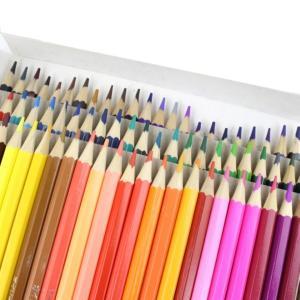 油性色鉛筆セット 72色 六角形 油性 色鉛筆 塗り絵 イラスト ._