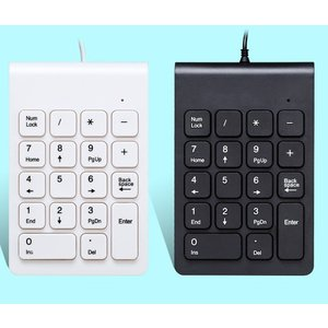 USBテンキー MLD-268 《ブラック》 有線 接続 軽量 薄型 静音 .|yusyo-shopping
