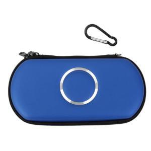 PSPポーチ 《ブルー》 収納ポーチ 収納ケース PSP 1000 2000 3000 .|yusyo-shopping