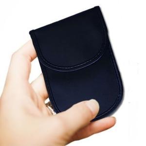 電波遮断 携帯圏外ポーチ2 縦型 スマホ 電話圏外 カバー ケース 収納 ポーチ iPhone スマートフォン 対応 .|yusyo-shopping