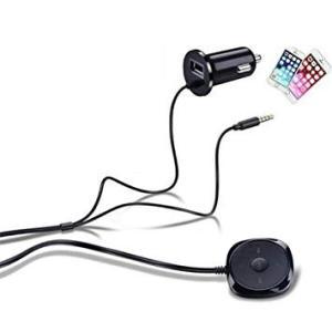 Bluetooth オーディオレシーバー スマホ ワイヤレス ハンズフリー通話 車載オーディオ .|yusyo-shopping