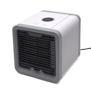 USBポータブルクーラー 風量3段階 LEDムードライト 扇風機 冷風機 ..|yusyo-shopping