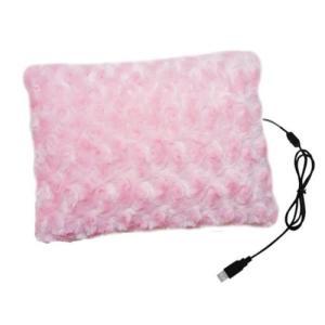 プリラス USBあったかローズボアクッション 1170100PK ピンク ..|yusyo-shopping