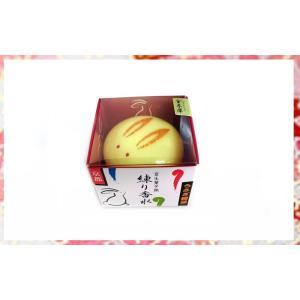 舞妓さんの練り香水/舞妓さんの練香水「うさぎ饅頭」 金木犀(きんもくせい) . yusyo-shopping