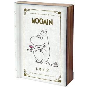 MOOMIN ムーミン トランプ アンティークケース入り .