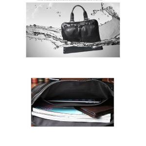 ビジネスバッグ 大容量 メンズ ブリーフケース A4 ショルダー 2way 13インチPC対応|yutaka-s