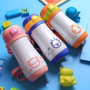 水筒 子供用 魔法瓶 キッズ ボトル 直飲み 保温 キャラクター 通園 通学JZAH-TB01|yutaka-s