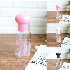 水筒 カップ ボトル プラスチックボトル 直飲み かわいい 韓国風 オシャレ 軽い 便利 スポーツJZAH-TB14|yutaka-s