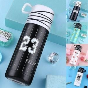 水筒 カップ 直飲み ステンレスボトル 水筒 魔法瓶 かわいい 韓国風 オシャレ 保冷保温JZAH-TB78 yutaka-s