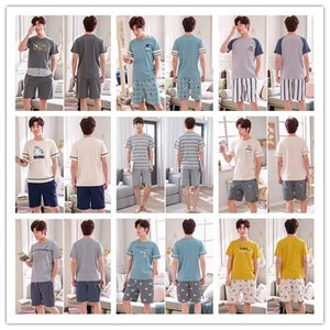 品名:メンズパジャマ ■素材:コットン ■カラー:全24色 ■サイズ:L〜3XL ■おすすめ季節:春...