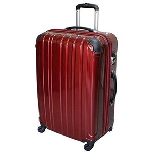 (シェルポッド) shellpod スーツケース HZ-500 中型 MSサイズ 鏡面レッド【MS/RED】 yutakanaseikatu