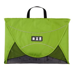 (バッグスマート)BAGSMART ワイシャツケース 17インチ グリーン yutakanaseikatu