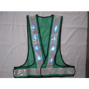 青色LEDベスト 緑・白 |yutorianzen