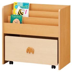 Pinocoro-ピノコロおもちゃ箱付きブックシェルフ yutoriplan