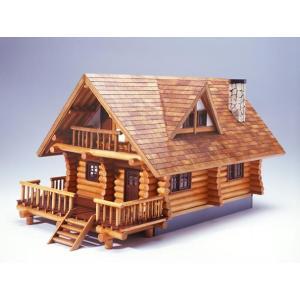 ログハウス ウッディージョー 1/24木製模型 送料無料 ポイント10倍  楽天ランキング1位獲得 yutoriplan