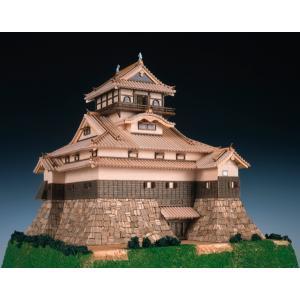 国宝 犬山城 ウッディージョー 1/150木製模型 送料無料  楽天ランキング1位獲得 yutoriplan
