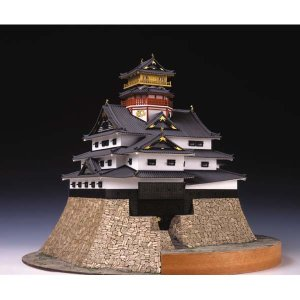 安土城 天守閣 ウッディージョー 1/150木製模型 送料無料 ポイント10倍  楽天ランキング1位獲得 yutoriplan