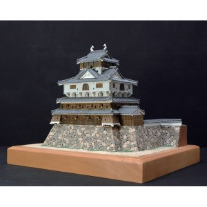 岩国城 1/150ウッディージョー木製模型 送料無料 ポイント3倍  楽天ランキング1位獲得 yutoriplan