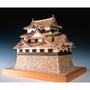 国宝 彦根城 ウッディージョー 1/80木製建築模型 送料無料 ポイント10倍  楽天ランキング1位獲得 yutoriplan