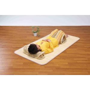 籐表皮シーツ・籐枕・足枕3点セット ヒンヤリ涼しくゆったりゴロ寝  楽天ランキング獲得|yutoriplan