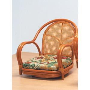 ラタン回転椅子 ロータイプ くつろぎ方いろいろ丈夫なカゴメ織り  楽天ランキング獲得 yutoriplan