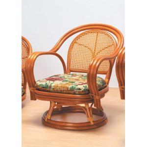 ラタン回転椅子 ミドルタイプ くつろぎ方いろいろ丈夫なカゴメ織り  楽天ランキング獲得 yutoriplan