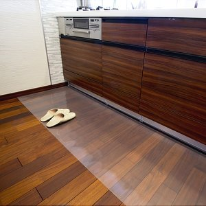 Achilles アキレス 透明キッチンフロアマット 60×120cm  送料無料  ポイント10倍  楽天ランキング1位獲得|yutoriplan