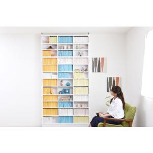 MEMORIA 棚板が1cmピッチで可動する 薄型オープン書棚上置き幅120.5cm  ポイント5倍  楽天ランキング1位獲得|yutoriplan