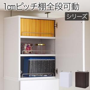 MEMORIA 棚板が1cmピッチで可動する 深型扉付書棚上置き幅41.5cm  ポイント4倍  楽天ランキング1位獲得|yutoriplan