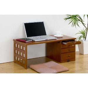 折りたたみ式文机(スライドテーブル付き)  楽天ランキング獲得の写真