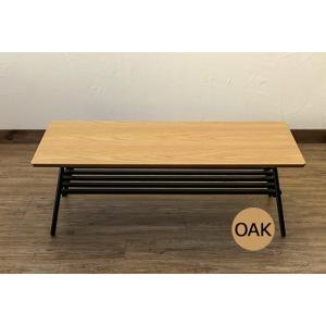 棚付き 折れ脚テーブル Luster 105|yutoriplan