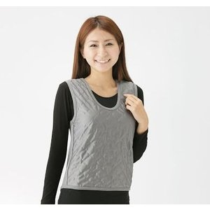 吸湿発熱繊維保温ベスト 2枚組|yutoriplan