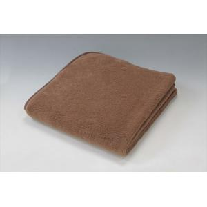 キャメルハイパイル敷毛布 シングル 送料無料