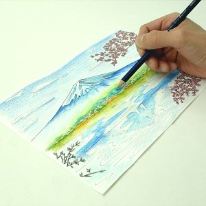 水彩色えんぴつ 120色 塗り絵付き 送料無料 yutoriplan