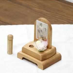 【国産】 かわいい超ミニペット用仏壇 写真入れ付き|yutoriplan