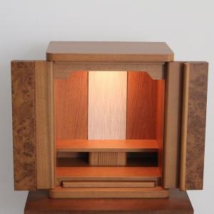 仏壇 静岡の仏壇 家具調 モダン仏壇 胡桃 日本製|yutoriplan