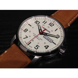 WENGER (ウェンガー) 腕時計 Attitude Day Date 01.1541.103 復活e優美堂のウェンガーは安心のメーカー保証3年付き日本正規商品です。|yuubido-oyabu