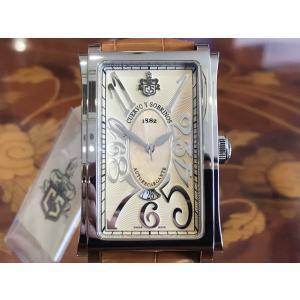 クエルボイソブリノス 腕時計 プロミネンテ ソロテンポ デイト 正規商品 Ref.1012.1CHM クエルボ・イ・ソブリノス 無金利分割も可能です|yuubido-oyabu
