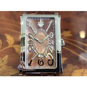 クエルボイソブリノス 腕時計 プロミネンテ ソロテンポ デイト 正規商品 Ref.1012.1RM クエルボ・イ・ソブリノス 無金利分割も可能です|yuubido-oyabu