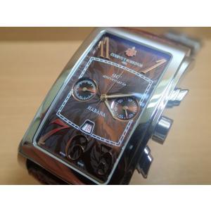 クエルボイソブリノス 腕時計 プロミネンテ クロノ 〜キューバ×日本 国交90周年記念 限定モデル〜 正規商品 Ref.1014.1T90 世界限定本数は僅か20本|yuubido-oyabu