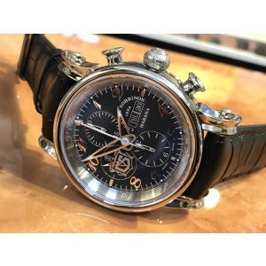 クエルボ・イ・ソブリノス 腕時計  TORPEDO pirata chrono DAY DATEトルピード ピラータ クロノ デイデイト 正規商品 Ref.3051.1NDD|yuubido-oyabu