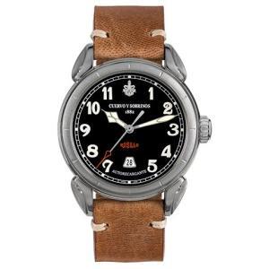 クエルボイソブリノス 腕時計 Domingo Rosillo ヴェロ ドミンゴ ロシ−ヨ 正規商品 Ref.3205.1N クエルボ・イ・ソブリノス 無金利分割も可能です|yuubido-oyabu