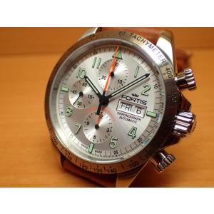 フォルティス 腕時計 フォルティス FORTIS クラシック・コスモノート スチール a.m. 42mm Ref.401.21.12 優美堂分割払いOKです|yuubido-oyabu