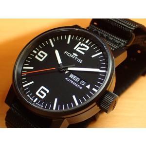 フォルティス スペースマティック ステルス 腕時計 Spacematic Stealth 40mm Ref.623.18.18N|yuubido-oyabu