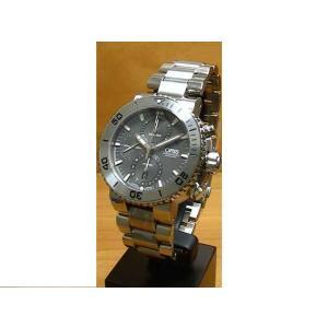 オリス 腕時計 ORIS 時計 アクイス チタン クロノグラフ 腕時計 46ミリ 674765572...