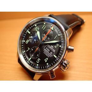 フォルティス 腕時計 フォルティス FORTIS Flieger Pro Chronographフリーガープロ クロノグラフ 43mm Ref.705.21.11 分割払いOKです|yuubido-oyabu