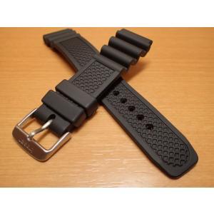 トレーサー Traser 腕時計 純正 ラバーストラップ バンド ベルト バネ棒つき BLACK ブラック(正規輸入品)22mm|yuubido-oyabu