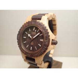 ウィーウッド WEWOOD 腕時計 ウッド/木製 DATE BEIGE CHOCO 9818117 メンズ (正規輸入品) yuubido-oyabu