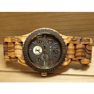 木の腕時計 ウィーウッド WEWOOD 腕時計 ウッド/木製 KARDO ZEBRANO 9818122 メンズ (正規輸入品) yuubido-oyabu