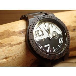 ウィーウッド WEWOOD 腕時計 ウッド/木製 OBLIVIO BLACK-WHITE 9818123 メンズ (正規輸入品) yuubido-oyabu